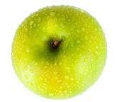 Delicious ripe green apple — Stock Photo