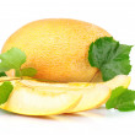 Ripe sliced melon — Stock Photo