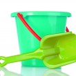 Baby toy bucket and shovel — Stock Photo #6660210