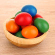 Easter Eggs in basket — Stock Photo #6660746