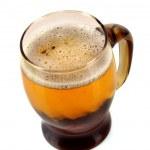 Mug of beer isolated on white — Stock Photo #6660967