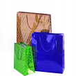 Stock Photo: Colorful shopping bags isolated on white background