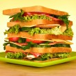 Royalty-Free Stock Photo: Huge sandwich