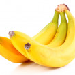 Stock Photo: Bunch of bananas isolated on white background