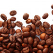 Coffee beans on white background — Stock Photo #6667926