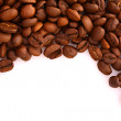 Coffee beans on white background — Stock Photo #6667954