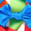 Royalty-Free Stock Photo: Color  bows on white background