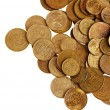 Golden coins — Stock Photo #6668742