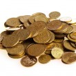 Golden coins — Stock Photo #6668747