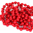 Stock Photo: Shiny red beads