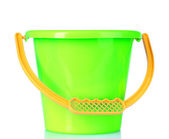 Baby toy bucket — Stockfoto