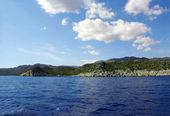 Mountains and sea view. Turkey. — Stock Photo