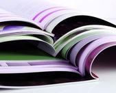 Color magazines — Stock Photo