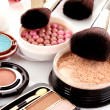 Many professional cosmetics for make up — Stock Photo #6674739