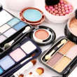 Many professional cosmetics for make up — Stock Photo #6674748