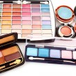 Many  cosmetics for make up — Stock Photo