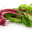 Stock Photo: Beetroot isolated on white