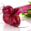 Beetroot isolated on white - Stock Photo