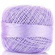 Tangle of purple thread — Stock Photo