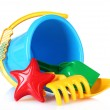 Children's beach toys — Stock Photo #6677982