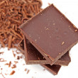 Chopped chocolate — Stok Fotoğraf #6679439