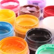 Opened paint buckets colors — Stock Photo #6679815