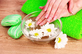 Bodycare of hands. — Stock Photo