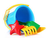 Children's beach toys — Stockfoto
