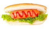 вкусные хот-дог — Стоковое фото