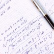 Stock Photo: Mathematical calculation