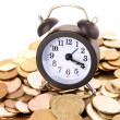 Time is money concept — Foto de Stock