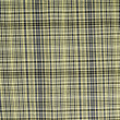Closeup of yellow tartan fabric - Stock Photo