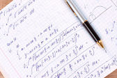 Mathematical calculation — Stock Photo