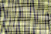 Closeup of yellow tartan fabric — Stock Photo
