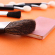 Stock Photo: Cosmetic brushes