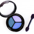Brue eyeshadows — Stock Photo