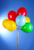 Flying balloons — Stock Photo