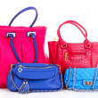 Stock Photo: Handbags isolated