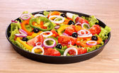 Many vegetables in a pan — Stock Photo