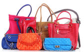 Handbags isolated — Stock Photo