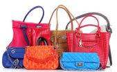 Handbags isolated — Stock Photo