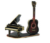 Piano and guitar — Stock Photo