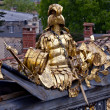 Golden armor — Stock Photo