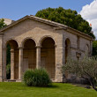 Stock Photo: Ancient buildind at place Christophe Colomb, Montpellier