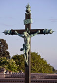 Old cross, Montpellier, France — Stok fotoğraf