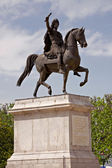 Statue Louis XIV, Montpellier — Stock Photo