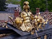 Golden armor — Foto de Stock