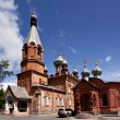 Stock Photo: Old church in Satka