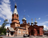 Velha igreja no satka — Fotografia Stock