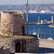 Memorial at the fort Saint-Nicolas, Marseille — Stock Photo